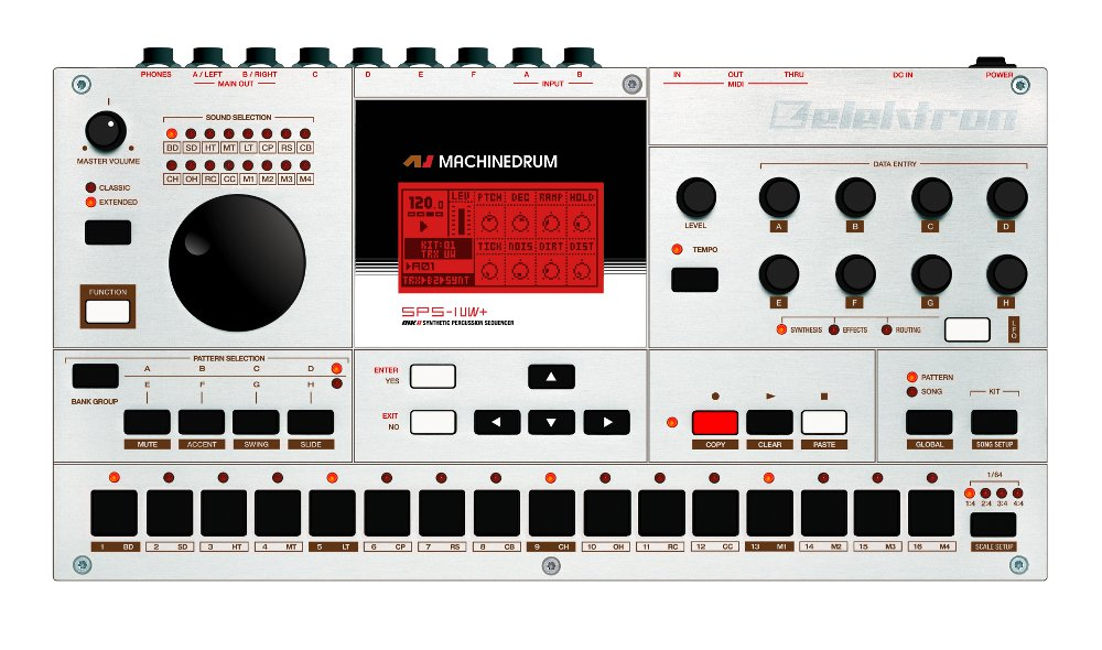 Elektron machinedrum sps1 occasion