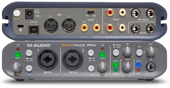 carte son m audio fast track pro occasion