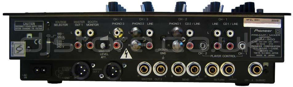 table de mixage djm 500 pioneer