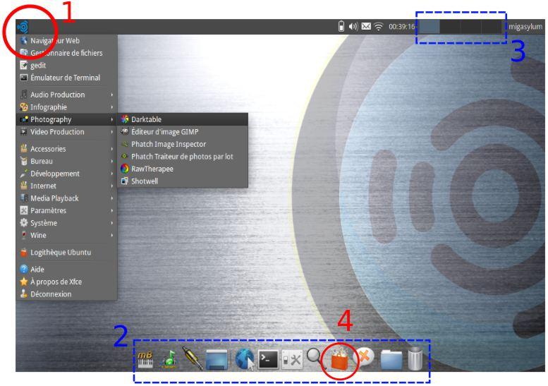 Premiers pas sous ubuntu studio la mao sous linux easyzic
